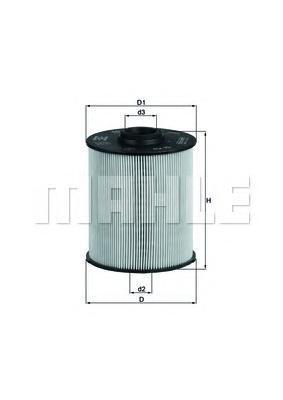KX70D Фильтр топливный MB W202/210 CDI