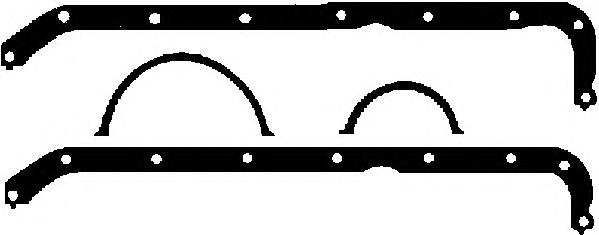 59008500 Прокладка картера (в комплекте)