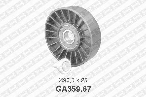 GA35967 Ролик ремня приводного PEUGEOT 306/406 1.6-2.0