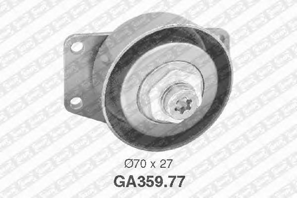 GA35977 Натяжной ролик, п/клин. ремень CI Be/XS,PE206/Pa