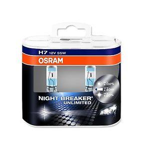 64210NBUDUOBOX Лампа H7 12V-55W (PX26d) NIGHT BREAKER UNLIMITED (коробка 2шт.)