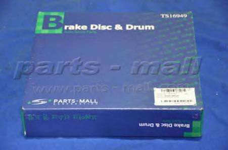PRB005 Диск тормозной KIA CARENS 1.8 00-02/CLARUS 1.8-2.0 96- передний вент.D=258мм.