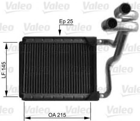 812441 Радиатор отопителя HYUNDAI: I30 1.4/1.6/1.6 CRDI/2.0/2.0 CRDI 07-, I30 CW УНИВЕРСАЛ 1.4/1.6/1.6 CRDI/2.0/2.0 CRDI 08- KIA
