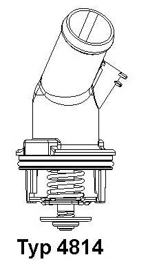 481492D Термостат (в корпусе) AUDI: A4 00-04, A4 04-, A4 Avant 01-04, A4 кабрио 02-, A6 97-05, A6 04-, A6 Avant 97-05, A6 Avant