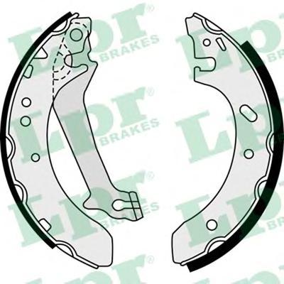 08520 Колодки тормозные барабанные задн FORD: ESCORT CLASSIC 98-00, ESCORT CLASSIC Turnier 99-00, ESCORT VII 95-98, ESCORT VII к