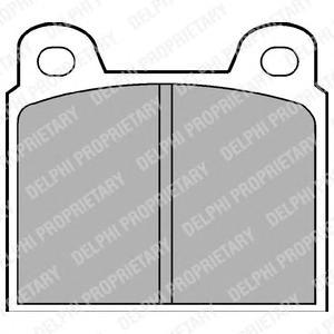 lp20 Комплект тормозных колодок, дисковый тормоз