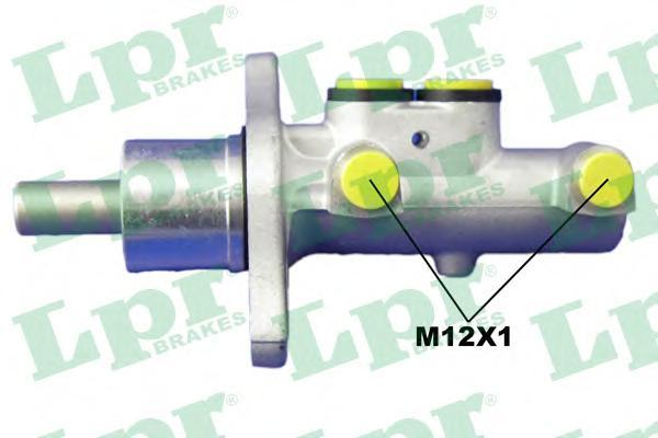 1697 Цилиндр торм.глав.FORD FOCUS II/C-MAX/MAZDA 3 с ABS