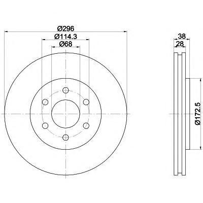 8dd355116381 Тормозной диск