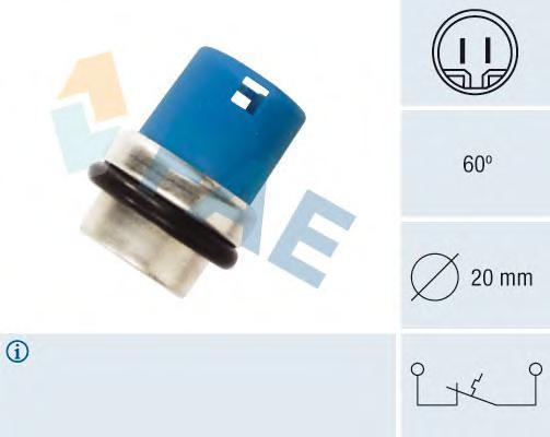 35300 термовыключатель, сигнальная лампа охлаждающей жидкости