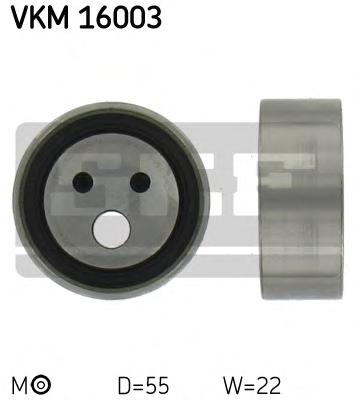VKM16003 Ролик ремня ГРМ RENAULT LOGAN/CLIO/KANGOO/ SANDERO 1.4-1.6i K7J/K7M натяжной