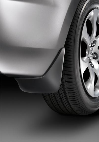 BHC4V3460 Брызговики задние Mazda 3 BLFL 2011--  х/б