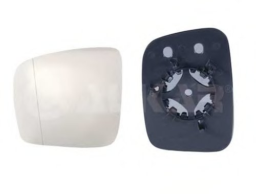 PMG4047G01 Стекло зеркала лев асферич  VW: CADDY - (2004-2010) , TRANSPORTER T5 - (2003-09)