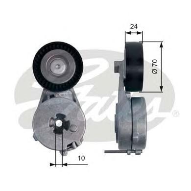 T39122 Натяжитель ремня приводного AUDI A4/A5/VW AMAROK 1.8/2.0 07-