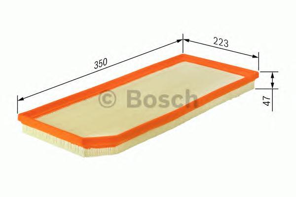 F026400181 Фильтр воздушный VOLVO S80/XC60 2.4D/4.4