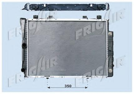 01063003 Радиатор, охлаждение двигателя