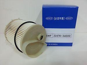 2247634000 Фильтр топливный SSANGYONG Actyon (10-),Actyon Sport (12-),Rexton (12-) (D20) OE