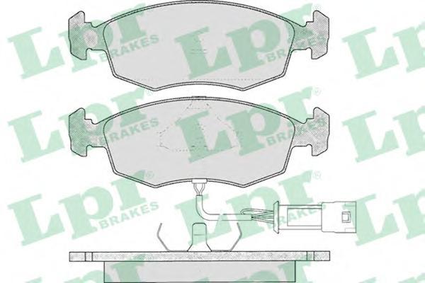 05P269 Колодки тормозные FORD SCORPIO 2.0-2.9/SIERRA2.8/2.9 82- передние