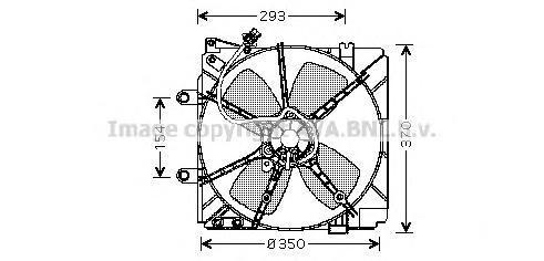 MZ7511 Вентилятор радиатора MAZDA 626 -97