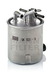 WK9206 Фильтр топливный NISSAN NAVARA/PATHFINDER 2.5 DCI