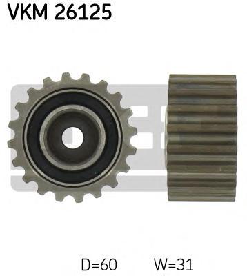 VKM26125 Ролик промежуточный ремня ГРМ Renault Laguna 1.9dTI 01/97