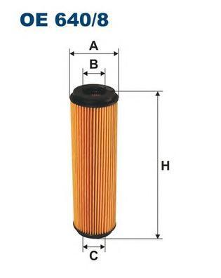 OE6408 Фильтр масляный MB W203/204/211/C209 1.6/1.8 Kompressor/SPRINTER (906) 1.8