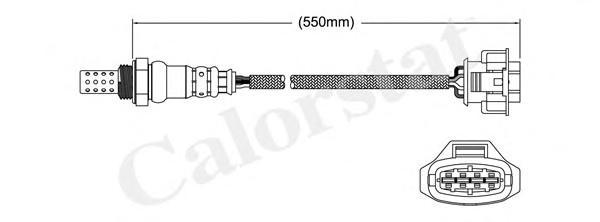 LS140011 Лямбда-зонд OPEL: AGILA 1.0/1.0 12V/1.2 16V Twinport 00-07