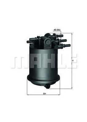 KL414 Фильтр топливный RENAULT LAGUNA/MEGANE 1.9 dCi