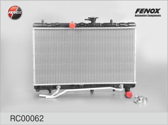 RC00062 Радиатор KIA RIO II 1.4/1.6 05-