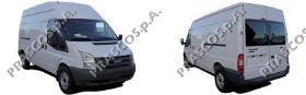FD9121113 Боковина переднего бампера правая (а/м с ПТФ) / FORD Transit 06~