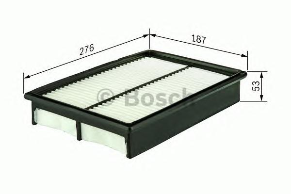 F026400129 Фильтр воздушный MAZDA 3/5 1.8-2.0 03-