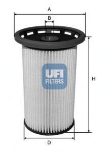 2602500 Топливный фильтр