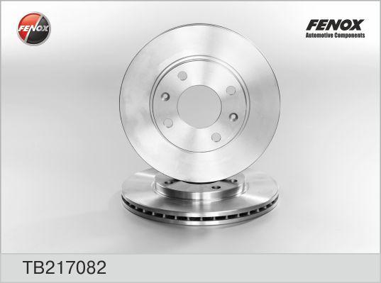 TB217082 Диск тормозной CITROEN SAXO/XSARA/ZX/PEUGEOT 106/206/306 передний вент.