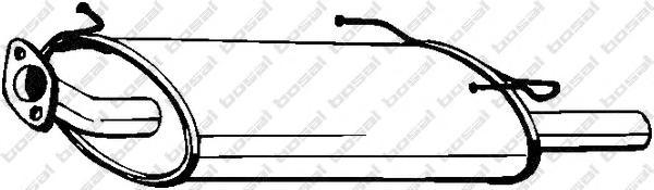 145703 Глушитель NISSAN MAXIMA QX 2.0-3.0 97-