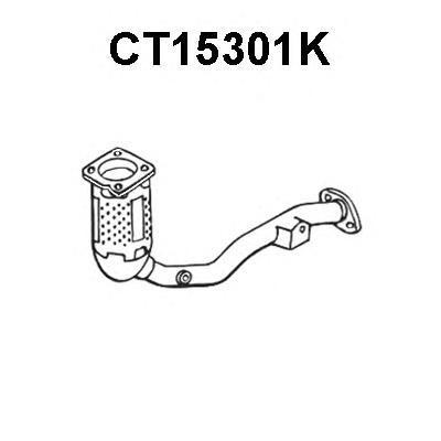 ct15301k КАТАЛИЗАТОРC2/C3/10071.6I16V02/02-