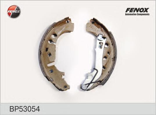 BP53054 Колодки торм.бар.FIAT GRANDE PUNTO 1.3D/1.4 05-/OPEL CORSA D 06- (228x40)