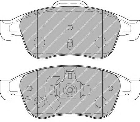 FDB4180 Колодки тормозные RENAULT DUSTER 10-/FLUENCE 10-/MEGANE III 08- передние