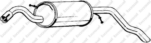 154279 Глушитель FORD ESCORT 1.3 95-01