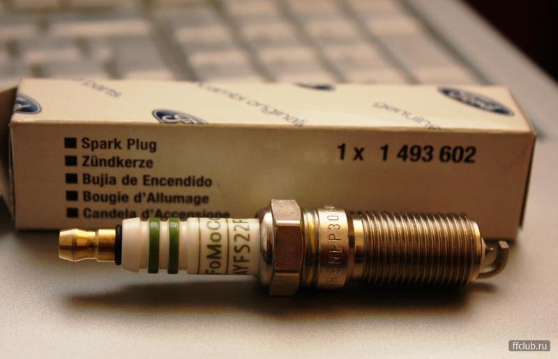 1493602 Свеча зажигания 1.6 PFI VCT(100/115 л.с.) иридиевые