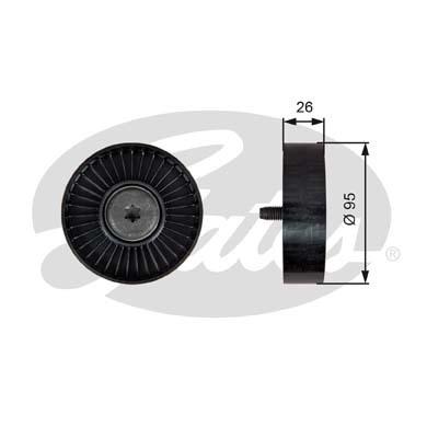 T39247 Ролик приводного ремня ROVER 75 2.0-2.5 V6 00
