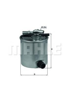 KL44015 Фильтр топливный NISSAN QASHQAI/X-TRAIL/RENAULT KOLEOS 2.0D 07-