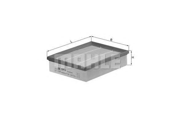 LX1029 Фильтр воздушный OPEL: VECTRA B 00-02, VECTRA B хечбэк 00-03, VECTRA B универсал 00-03