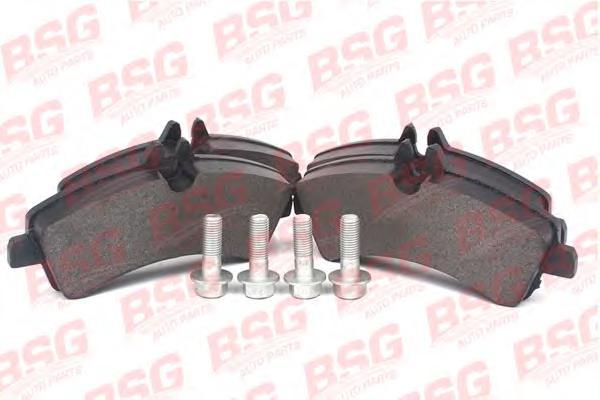 BSG60200009 Колодки тормозные дисковые задние / VW Crafter 30-50; M.B Sprinter 2.5TDI 04/06~