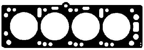 825395 Прокладка ГБЦ Opel Astra, Vectra 1.7D 17D/DR 88