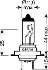 64210SV202B Лампа H7 12V-55W (PX26d) SILVERSTAR 2.0 (блистер 2шт.)