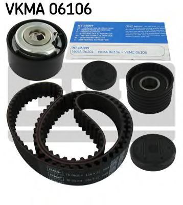 VKMA06106 Комплект ремня ГРМ RENAULT F4R/F4P