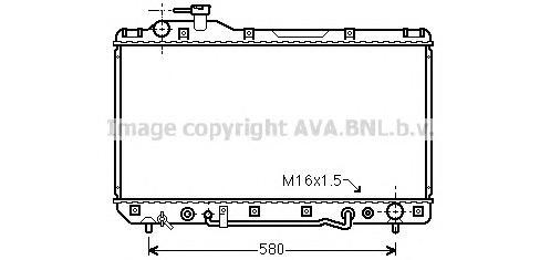 TO2220 Радиатор TOYOTA RAV 4 2.0 A/T 94-01