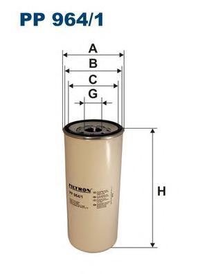 PP9641 Фильтр топливный RENAULT MAGNUM/VOLVO FH/FM