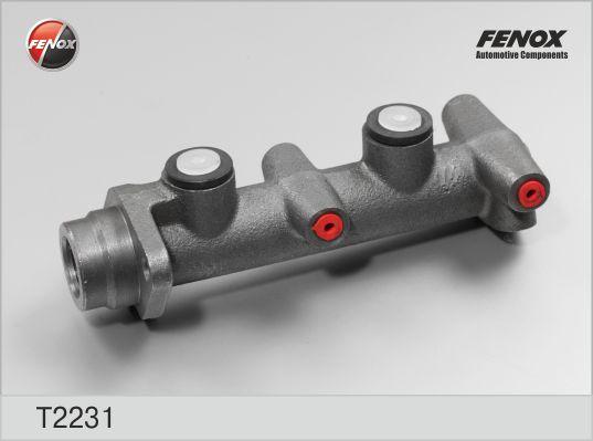 T2231 Цилиндр торм.главн. D=22,22 Ford Sierra