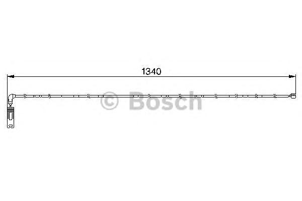 1987474944 Датчик износа торм.колодок BMW E46
