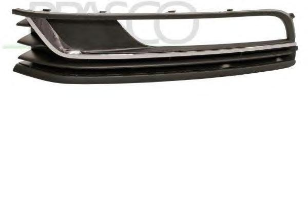 VW0552124 Решетка бампера левая / VW Passat 11~